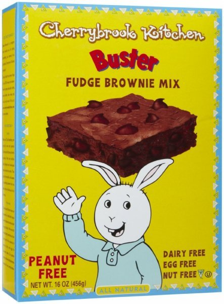 brownie mix fudge with chocolate chips Cherrybrook Kitchen Nutrition info
