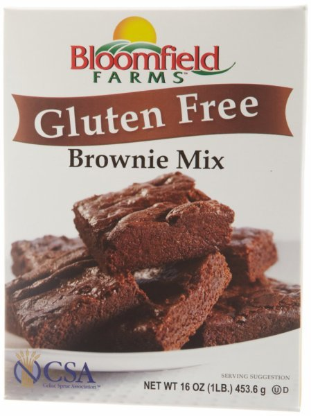 brownie mix gluten free BLOOMFIELD FARMS Nutrition info