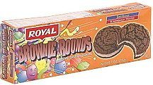 brownie rounds creme filled cookies Royal Nutrition info