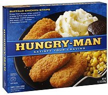 buffalo chicken strips Hungry-Man Nutrition info