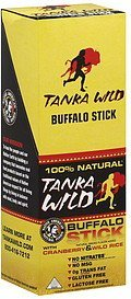 buffalo sticks with cranberry & wild rice Tanka Wild Nutrition info