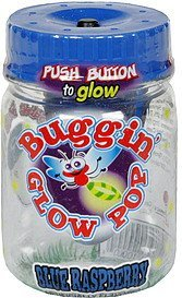 buggin' glow pop blue raspberry Impact Confections Nutrition info