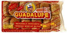 buns whole wheat, honey Guadalupe Nutrition info