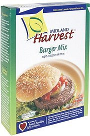 burger mix Midland Harvest Nutrition info
