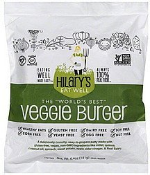 burger veggie Hilarys Eat Well Nutrition info