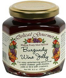 burgundy wine jelly Delicae Gourmet Nutrition info
