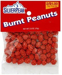 burnt peanuts Silver Peak Nutrition info