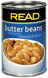 butter beans with molasses & bacon Read Nutrition info