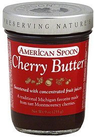 butter cherry American Spoon Nutrition info