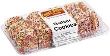 butter cookies Corey Bros. Bakery Nutrition info