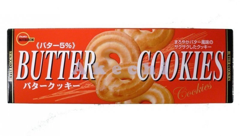 butter cookies Bourbon Nutrition info