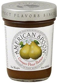 butter ginger pear American Spoon Nutrition info
