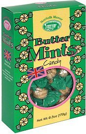 butter mints candy Norfolk Manor Nutrition info