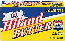 butter salted 4 quarters Hiland Nutrition info