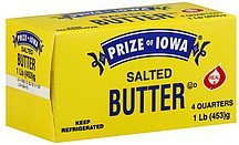 butter salted Prize of Iowa Nutrition info