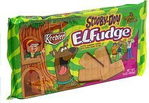 butter sandwich cookies with fudge creme filling, scooby-doo E.L. Fudge Nutrition info
