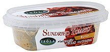 butter sundried tomato Isola Nutrition info