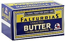 butter unsalted Falfurrias Nutrition info