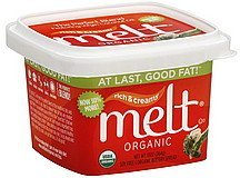 buttery spread organic Melt Nutrition info