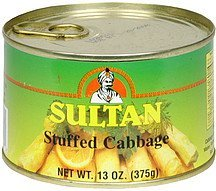 cabbage stuffed Sultan Nutrition info