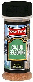 cajun seasoning Spice Time Nutrition info