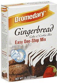 cake & cookie mix gingerbread Dromedary Nutrition info