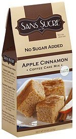 cake mix apple cinnamon coffee Sans Sucre Nutrition info