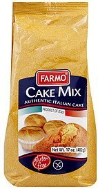 cake mix Farmo Nutrition info
