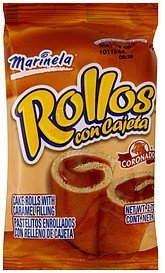 cake rolls with caramel filling Marinela Nutrition info
