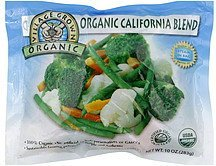 california blend Village Grown Organic Nutrition info