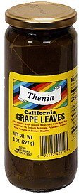 california grape leaves Thenia Nutrition info