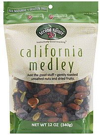 california medley Second Nature Nutrition info