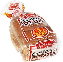 canadian potato premium bread J.J. Nissen Nutrition info