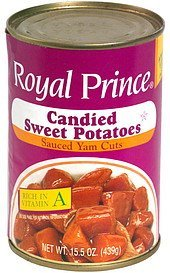 candied sweet potatoes Royal Prince Nutrition info