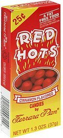 candies cinnamon flavored Red Hots Nutrition info