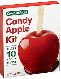 candy apple kit Concord Foods Nutrition info