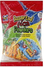 candy assorted pica powder Dulces Anahuac Nutrition info