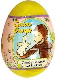 candy bananas and stickers candy, curious george, bananas and stickers Frankford Candy & Chocolate Company Nutrition info
