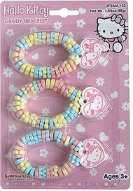 candy bracelet hello kitty Kandy Kastle Inc. Nutrition info