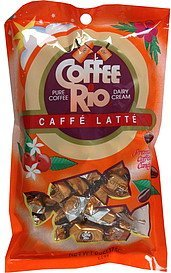 candy caffe latte Coffee Rio Nutrition info