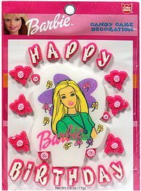 candy cake decoration barbie, happy birthday Cake mate Nutrition info