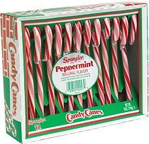 candy canes peppermint Spangler Nutrition info