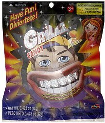 candy grillz, peach Candy Planet Nutrition info