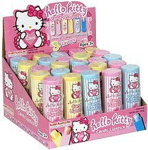 candy lipstick variety flavors, hello kitty Kandy Kastle Inc. Nutrition info