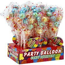 candy lollipops party balloon Alberts Nutrition info