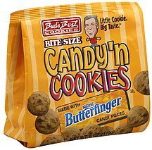 candy 'n cookies butterfinger, bite size Buds Best Cookies Nutrition info