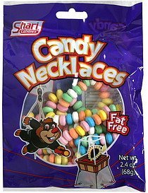 candy necklaces Shari Candies Nutrition info