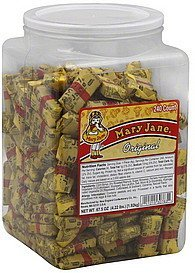 candy original Mary Jane Nutrition info