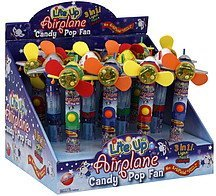 candy pop fan lite up airplane CandyRific Nutrition info
