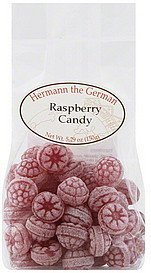 candy raspberry Hermann the German Nutrition info